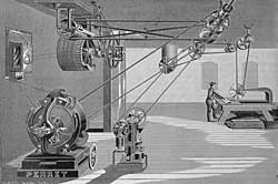 A Perret Motor at Work
